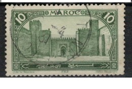 MAROC      N°  YVERT :   102    ( 9 )     OBLITERE       (OB 8/16 ) - Marocco (1891-1956)