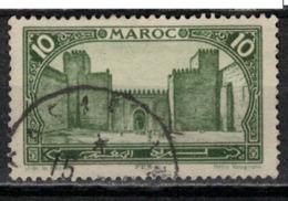 MAROC      N°  YVERT :   102    ( 12 )     OBLITERE       (OB 8/16 ) - Marocco (1891-1956)