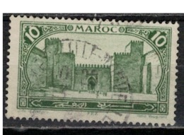 MAROC      N°  YVERT :   102    ( 13 )     OBLITERE       (OB 8/16 ) - Marocco (1891-1956)