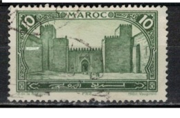 MAROC      N°  YVERT :   102    ( 14 )     OBLITERE       (OB 8/16 ) - Marocco (1891-1956)