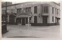 80 - MERS LES BAINS - Tempête 1935 - Garage De La Plage (carte Photo) - Mers Les Bains