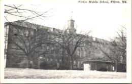 Maryland Elkton Middle School Real Photo - Etats-Unis