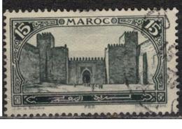 MAROC      N°  YVERT :   103  ( 1 )    OBLITERE       (OB 8/16 ) - Marocco (1891-1956)