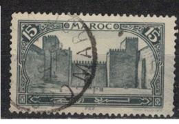 MAROC      N°  YVERT :   103  ( 2 )    OBLITERE       (OB 8/16 ) - Marocco (1891-1956)