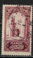 MAROC      N°  YVERT :   104   OBLITERE       (OB 8/16 ) - Marocco (1891-1956)