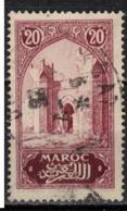 MAROC      N°  YVERT :   104   ( 1 ) OBLITERE       (OB 8/16 ) - Marocco (1891-1956)