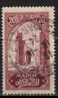 MAROC      N°  YVERT :   104   ( 2 ) OBLITERE       (OB 8/16 ) - Marocco (1891-1956)