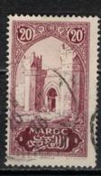 MAROC      N°  YVERT :   104   ( 3 ) OBLITERE       (OB 8/16 ) - Marocco (1891-1956)