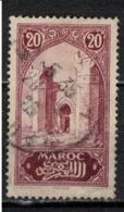 MAROC      N°  YVERT :   104   ( 5 ) OBLITERE       (OB 8/16 ) - Marocco (1891-1956)