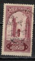 MAROC      N°  YVERT :   104   ( 7 ) OBLITERE       (OB 8/16 ) - Marocco (1891-1956)
