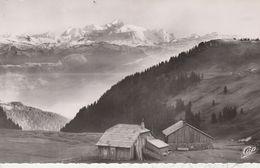 01 - GEX - Col De La Faucille - Panorama Sur Le Mont Blanc - Gex