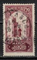MAROC      N°  YVERT :   104   ( 8 ) OBLITERE       (OB 8/16 ) - Marocco (1891-1956)