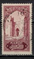 MAROC      N°  YVERT :   104   ( 9 ) OBLITERE       (OB 8/16 ) - Marocco (1891-1956)