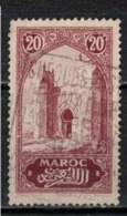 MAROC      N°  YVERT :   104   ( 10 ) OBLITERE       (OB 8/16 ) - Marocco (1891-1956)