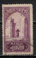 MAROC      N°  YVERT :   105    ( 2 )      OBLITERE       (OB 8/16 ) - Marocco (1891-1956)