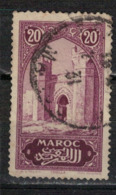 MAROC      N°  YVERT :   105    ( 3 )      OBLITERE       (OB 8/16 ) - Marocco (1891-1956)