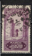 MAROC      N°  YVERT :   105    ( 4 )      OBLITERE       (OB 8/16 ) - Marocco (1891-1956)