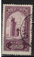 MAROC      N°  YVERT :   105    ( 6 )      OBLITERE       (OB 8/16 ) - Marocco (1891-1956)