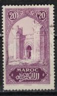 MAROC      N°  YVERT :   105    ( 7 )      OBLITERE       (OB 8/16 ) - Marocco (1891-1956)
