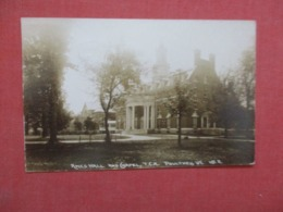 RPPC Ames Hall Poulthey   Vermont  >ref 4279 - Etats-Unis