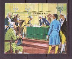 LIBERIA 1981 G.WASHINGTON  YVERT N°B99  NEUF MNH** - George Washington