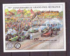 NIGER 1985 GRAND PRIX DE FRANCE  YVERT N°B  NEUF MNH** - Cars