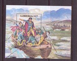 LIBERIA 1981 G.WASHINGTON  YVERT N°B96  NEUF MNH** - George Washington