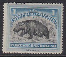 Liberia 1892 Official Sc O10 Mint Hinged - Liberia