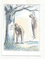 Cp , LA POSTE ,illustrateur TOPOR ,humour ,1988 ,tirage 2000 Ex. , Vierge - Post & Briefboten