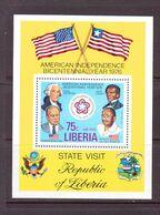 LIBERIA 1976 INDEPENDANCE USA   YVERT N°B82  NEUF MNH** - Us Independence