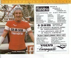 652 - CYCLISME - WIELRENNEN - MAERTENS FREDDY - Cycling