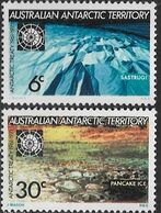 Australia Antarctic Territory   1971  Sc#L19-20 Treaty Set    MNH  2016 Scott Value $5.35 - Australian Antarctic Territory (AAT)