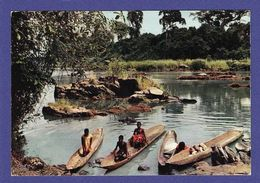AFRIQUE EN COULEURS Retour Des Lavandieres Cp Années 70 / 75 édit HAO QUI ( TTB état ) BD99 - Non Classés