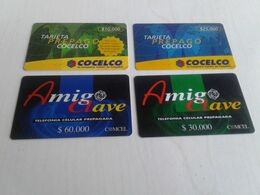 Colombia - 3 Nice Phonecard - Colombie