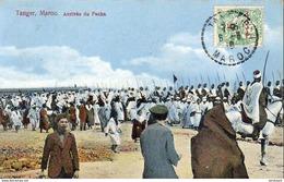 MAROC  TANGER  Arrivée Du Sultan - Tanger