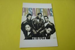 THE PASADENAS....TRIBUTE - Musica E Musicisti