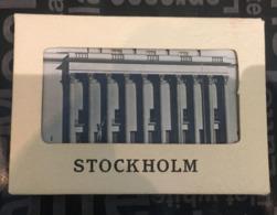 (Booklet 93) Small Size Postcard In Folder (see Photos) Stockholm - Sweden (10 Cards) - Suède