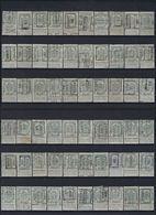 LIKWIDATIE Rijkswapen Nr. 81 (128 X) Voorafgestempeld Met ZELDZAME Ecxemplaren ; Staat Zie 7 Scans  ! LOT 210 - Roller Precancels 1900-09