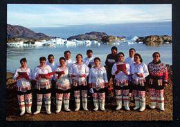 Greenland  Cards, Choir Singing At Sermilik Fjord, East Greenland   ( Lot 270 ) - Groenlandia