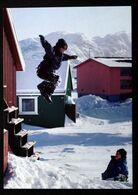 Greenland  Cards, Greenlandic Children At Play   ( Lot 270 ) - Groenlandia