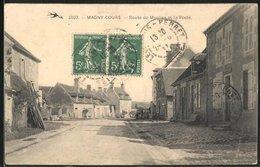 CPA Magny-Cours, Route De Moulins Et La Poste - Ohne Zuordnung