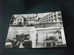 FERIENHEIM HAUS KATZENSTEIN POBERSHAU KR. MARIENBERG BILIARDO BIBIOTECA ETC. DDR - Hotels & Gaststätten
