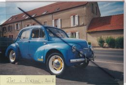 Photo D'une 4 CV Renault Prise à Port à Binson (51) - Automobiles