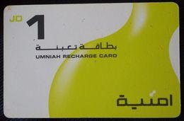 Jordan - Umniah Recharge Card 1 JD - Jordania