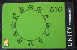 United Kingdom -Great Britain - IDT Unity Phonecard  £5 - Royaume-Uni