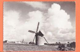 X29141 CLEDEN CAP SIZUN 29-Finistère Le Vieux Moulin à Vent Et Le Village 1950s Photo-Bromure 15X10 YVON I.B.497 - Cléden-Cap-Sizun
