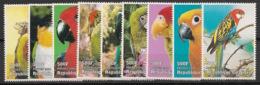 Niger - 1998 - N°Yv. 1247 à 1255 - Perroquets / Oiseaux / Birds / Parrots - Neuf Luxe ** / MNH / Postfrisch - Niger (1960-...)
