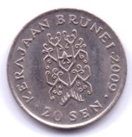BRUNEI 2009: 20 Sen, KM 37 - Brunei