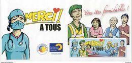 Merci Aux Soignants Et Bénévoles COVID 19 - Collectors