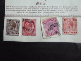 MALTA  MISC OLD - Malta